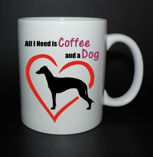 hrnek All I need is coffee and a dog - vipet