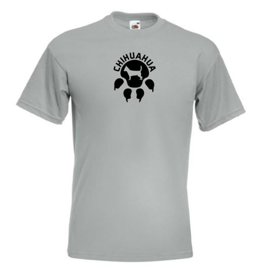 tričko Čivava krátkosrstá - stopa 9d9f9870ba