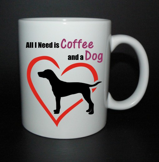 hrnek All I need is coffee and a dog - dalmatin