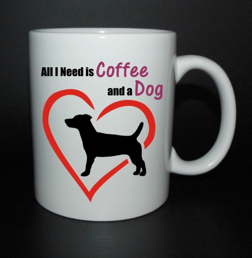 hrnek All I need is coffee and a dog - Jack Russell teriér
